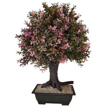 گلدان به همراه درختچه مصنوعی بخشی مدل ANS25BT