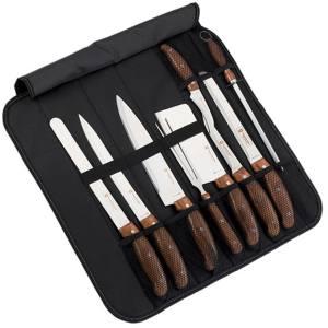 ست چاقوی آشپزخانه 9 پارچه رویالتی لاین مدل RL K9C