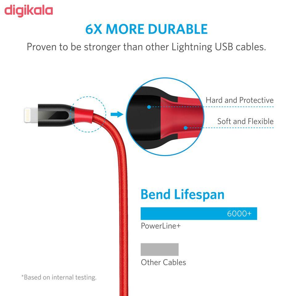 کابل تبدیل USB به لایتنینگ انکر مدل A8122 PowerLine Plus طول 1.8 متر main 1 19