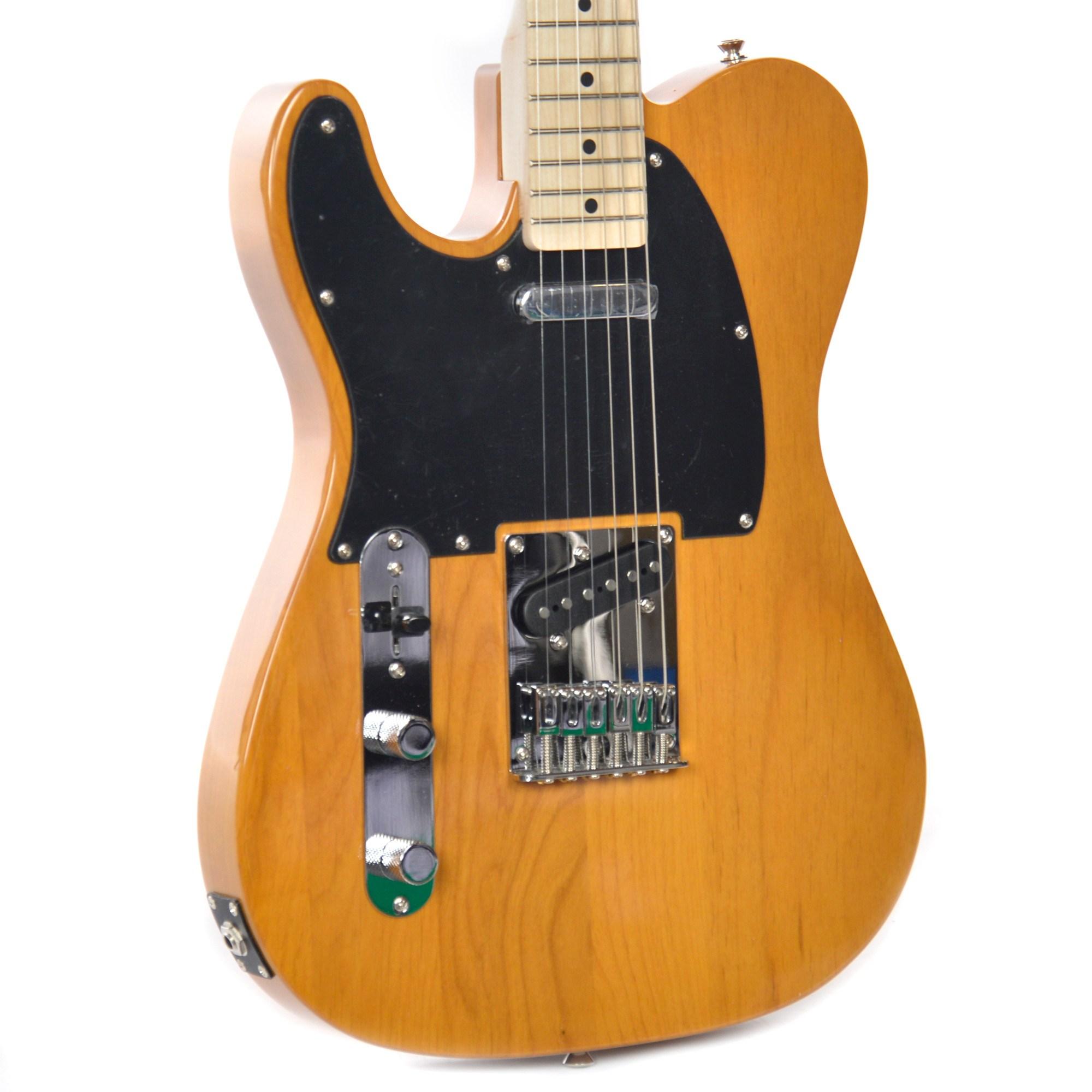قیمت                      گیتار الکتریک فندر مدل Squier Affinity Series Telecaster Butterscotch              ⭐️⭐️⭐️