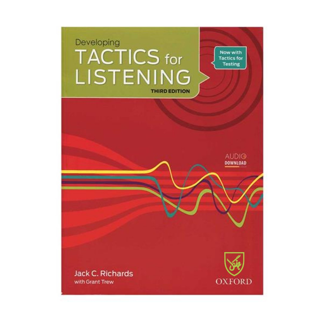 کتاب Tactics for Listening 3rd Developing اثر Jack C. Richards انتشارات جنگل