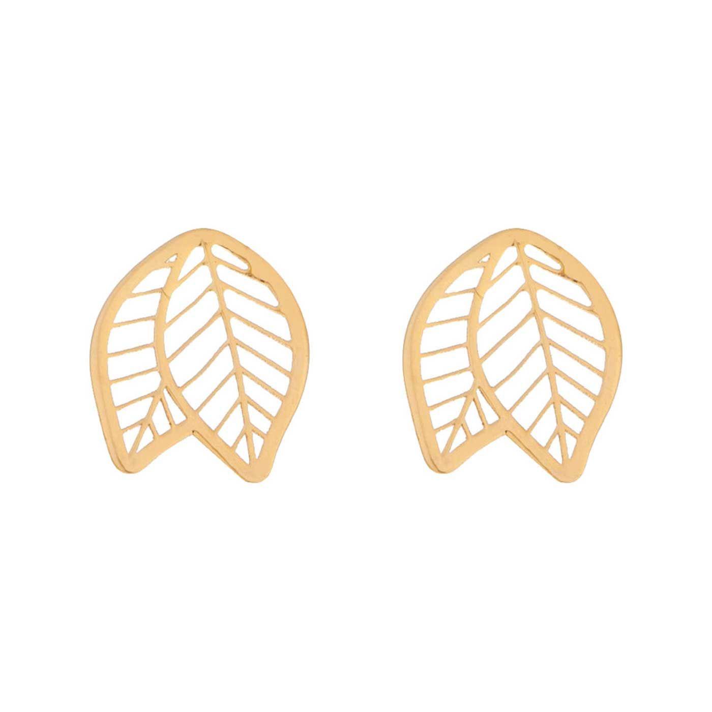 گوشواره طلا 18 عیار زنانه کانیار گالری کد GOA106 -  - 3