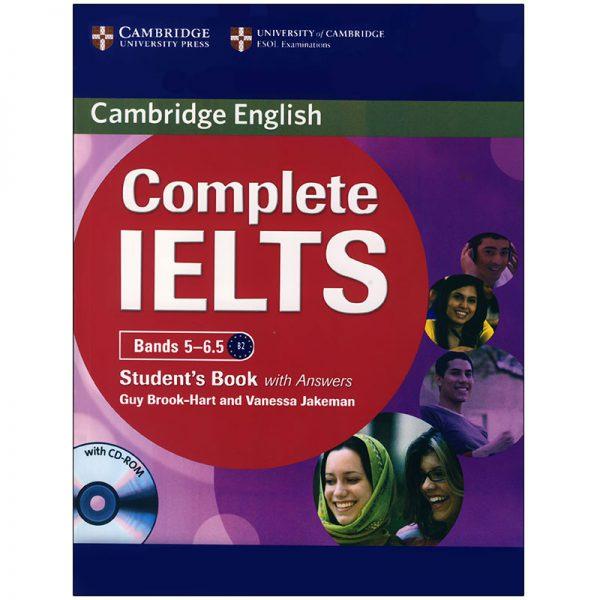 خرید                      کتاب complete IELTS bands 5-6.5 اثر Guy Brook-Hart and Vanessa Jakeman انتشارات زبان مهر