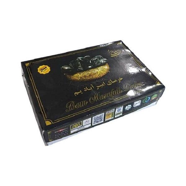 خرما مضافتی ممتاز امیرآباد بم - 900 گرم