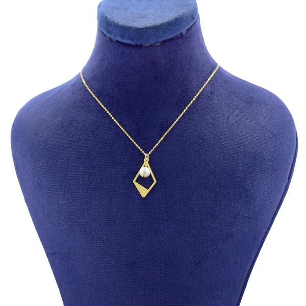 گردنبند طلا 18 عیار زنانه کانیار گالری مدل NE99