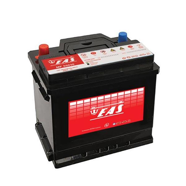 باتری اتمی خودرو ایاس مدل 50 آمپر 54430 (50L1)