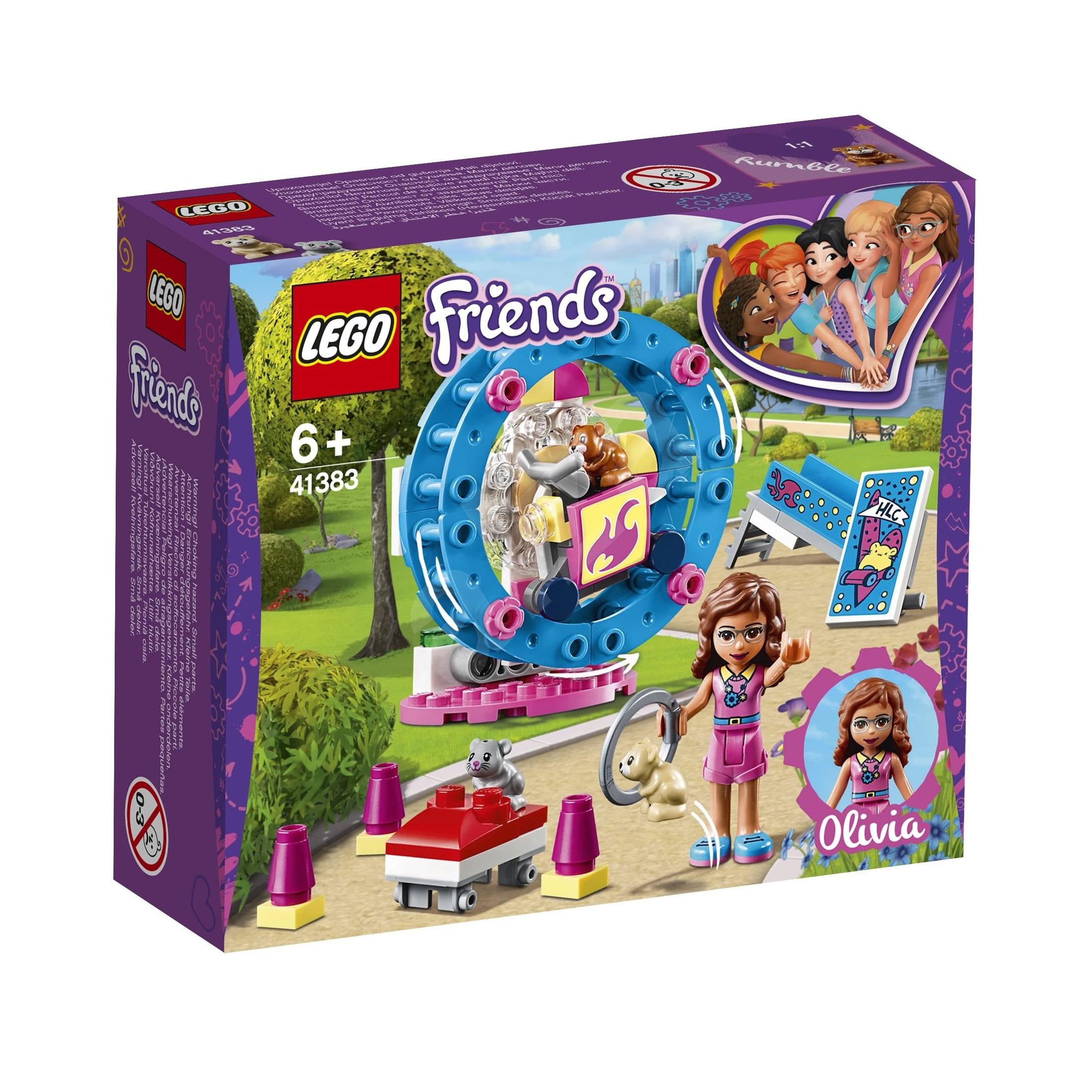 لگو سری Friends مدل 41383 Olivia Hamster Playground