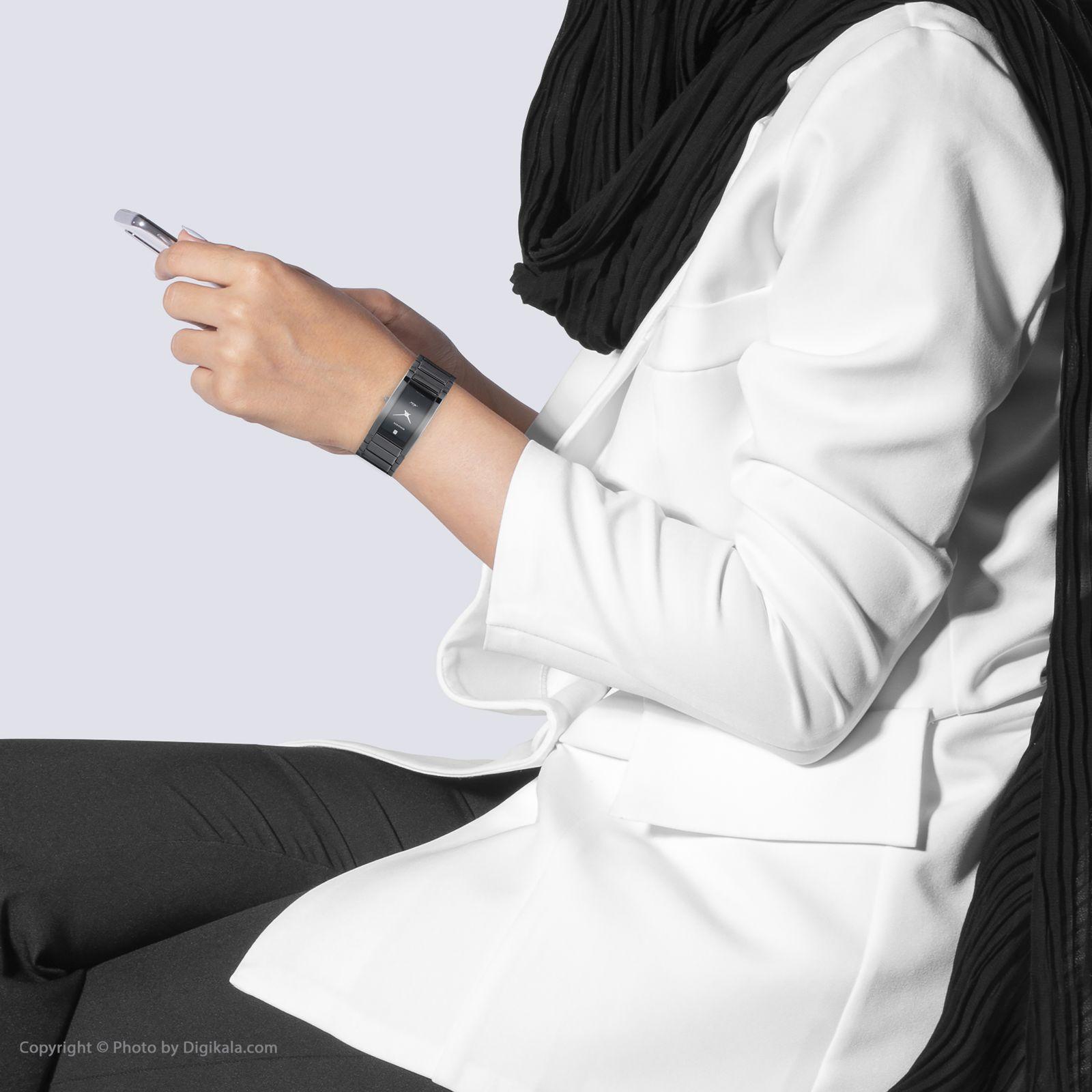 ساعت مچی عقربه ای زنانه رومانسون مدل TM0141MM1BA32W -  - 5