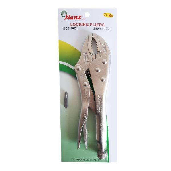 انبر قفلی هنس مدل 1805-10C سایز ۱۰ اینچ