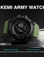 ساعت مچی دیجیتال مردانه اسکمی مدل T1358 -  - 3