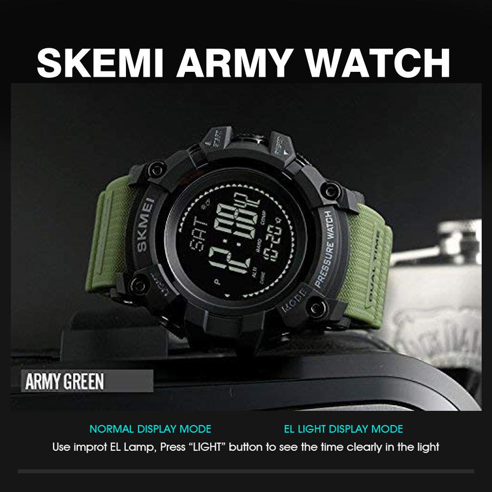 ساعت مچی دیجیتال مردانه اسکمی مدل T1358 -  - 4