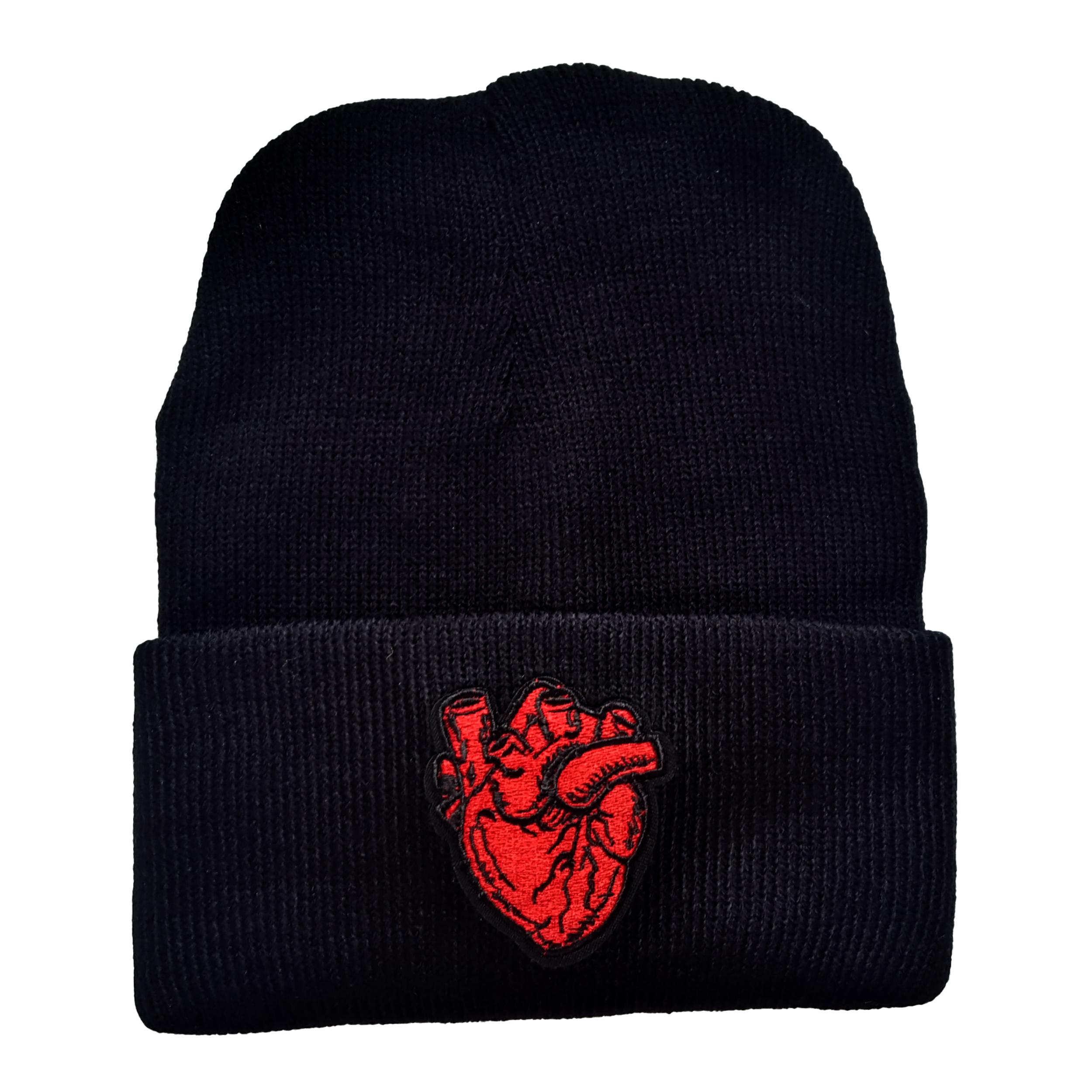 کلاه بافتنی طرح قلب کد KO-18
