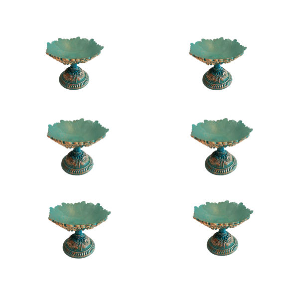 مجموعه ظروف هفت سین 6 پارچه مدل نگار کد 88
