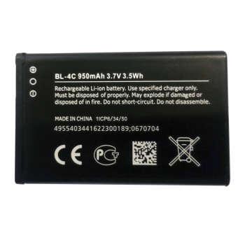 باتری موبایل مدل BL-4C ظرفیت ۹۵۰ میلی آمپر ساعت مناسب برای گوشی موبایل نوکیا  1202