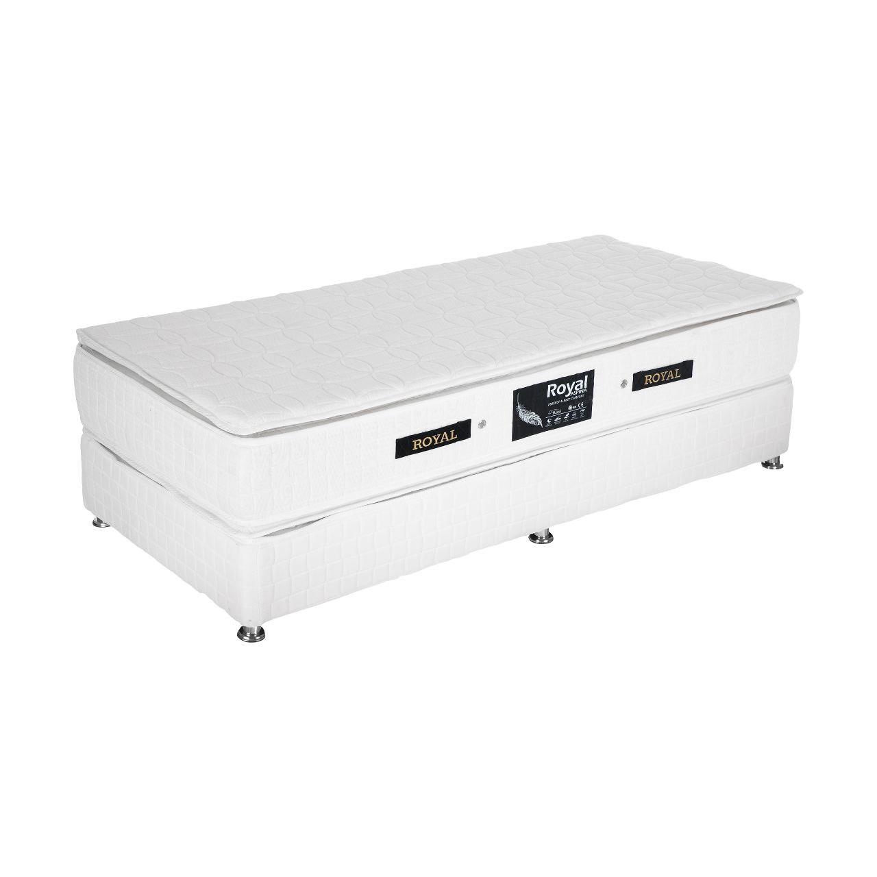 تخت خواب رویال کد BF900 یک نفره سایز 180 × 80 سانتیمتر