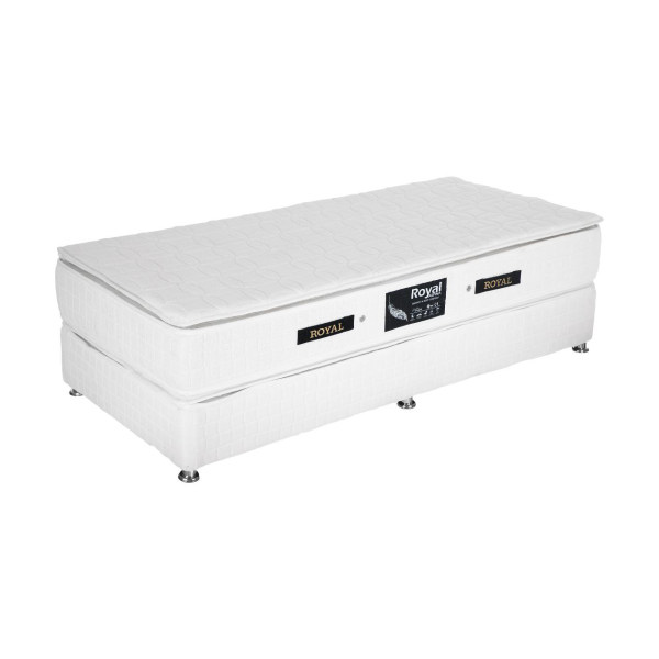 تخت خواب یک نفره رویال کد BL2سایز 200 × 90 سانتیمتر
