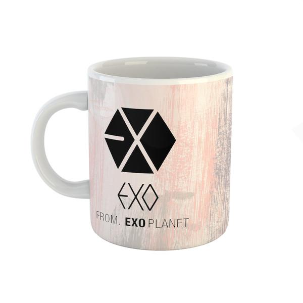 ماگ طرح اکسو مدل exo