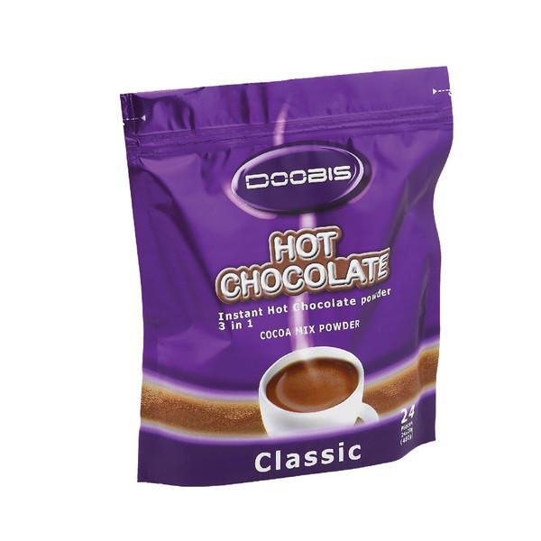شکلات داغ دوبیس بسته 24 عددی