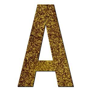 تابلو راهنما آژنگ طرح حروف دکوراتیو انگلیسی کد-A-LAMEH-TALA