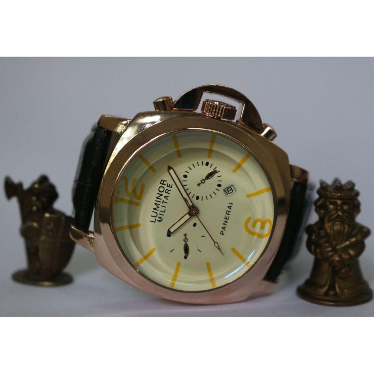 ساعت مچی عقربهای مردانه مدل L.M A112x                     غیر اصل