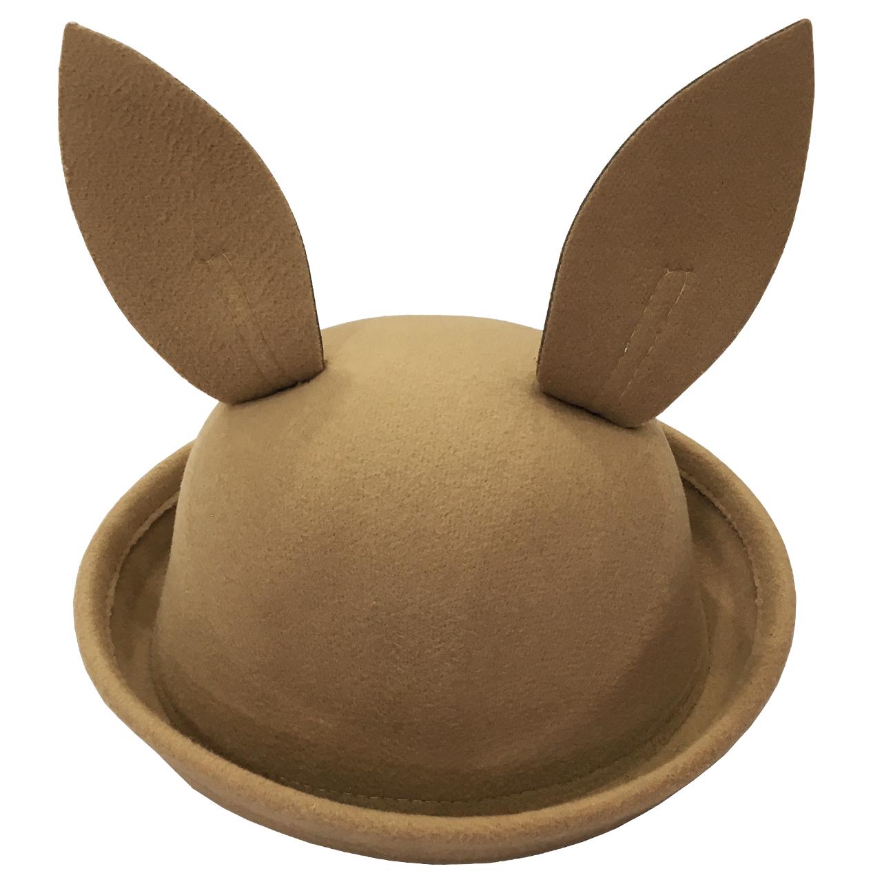 کلاه بچگانه طرح خرگوش رنگ کرم