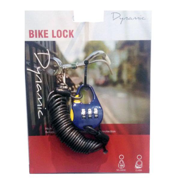 قفل دوچرخه داینامیک مدل SKL-6C