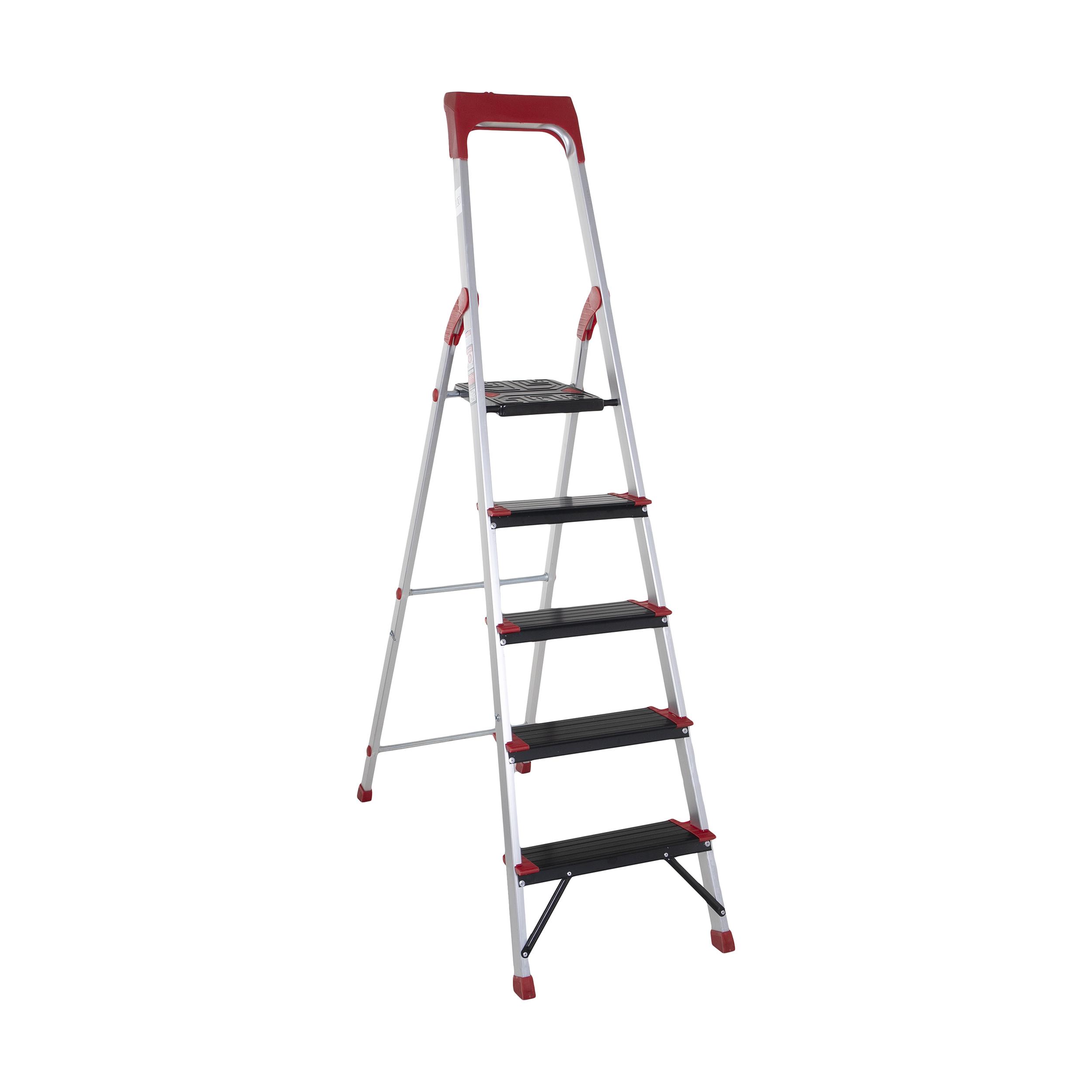 نردبان 5 پله آلوم پارس پله مدل کلاسیک