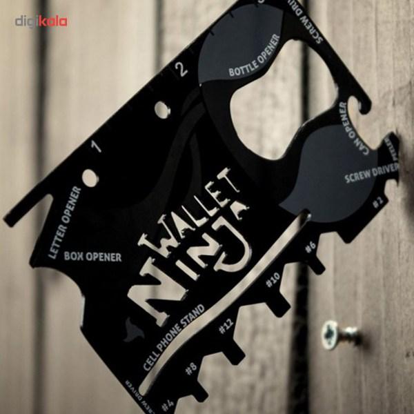 آچار و ابزار چند کاره Ninja Wallet main 1 6