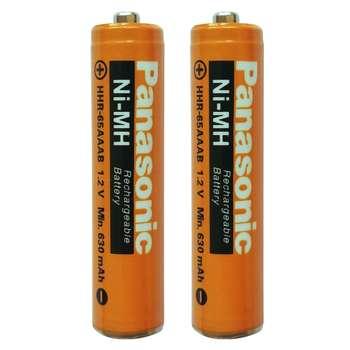 باتری نیم قلمی قابل شارژ پاناسونیک مدل 65AAAB بسته 2 عددی