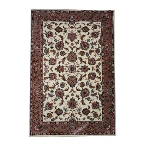 فرش ماشینی فرش ابریشمی کرامتیان طرح تبریز