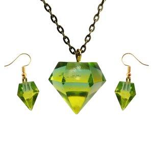 نیم ست دخترانه مدل الماس 2