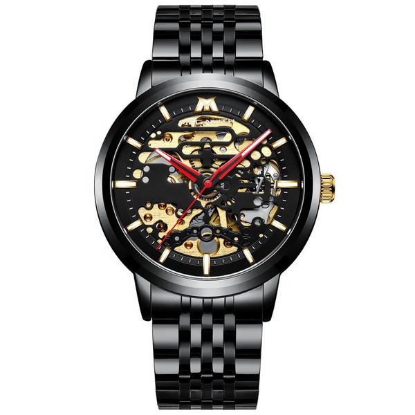 ساعت مچی عقربه ای مردانه مگالیت مدل 8204-blK