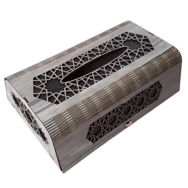 جعبه دستمال کاغذی کد N102
