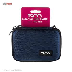 کیف هارد دیسک اکسترنال تسکو مدل THC 3152  TSCO THC 3152 External HDD Cover