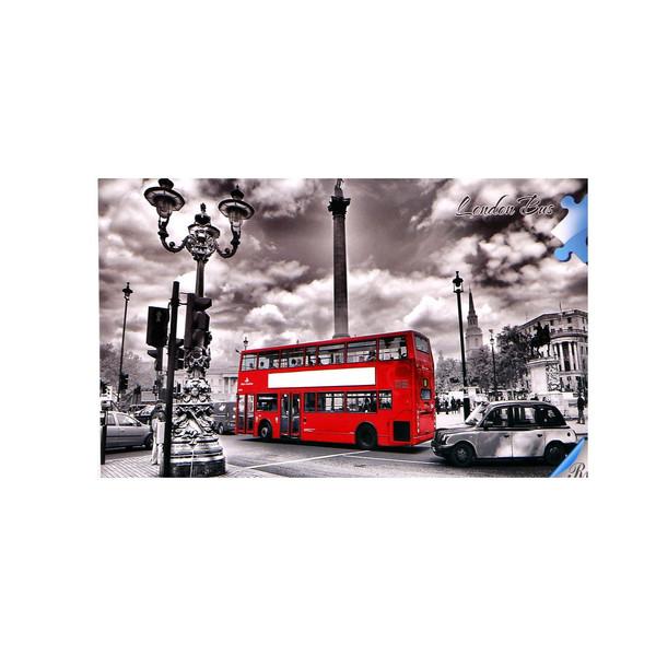 پازل 1000 تکه طرح London Bus