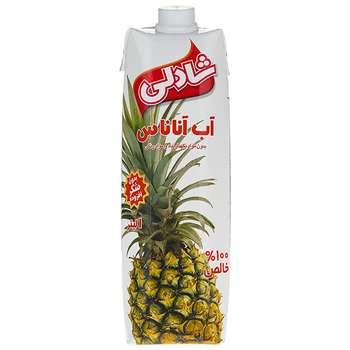 آب آناناس شادلی حجم 1 لیتر