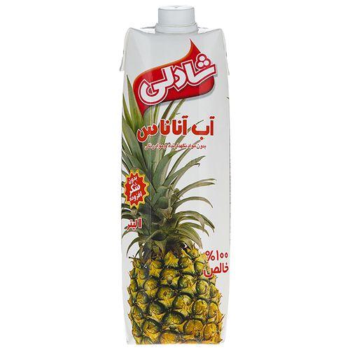آبمیوه آناناس شادلی حجم 1 لیتر