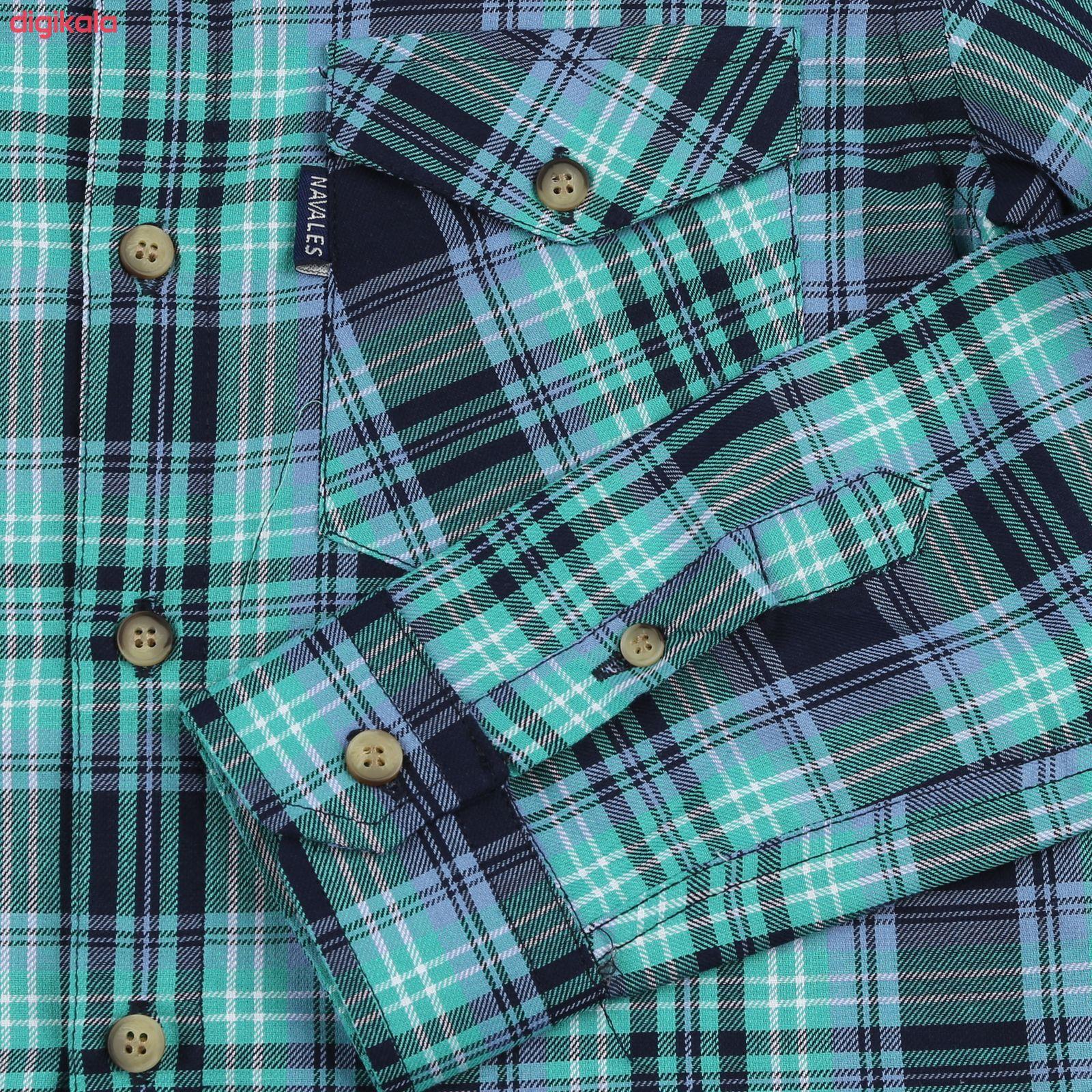 پیراهن پسرانه ناوالس کد R-20119-GN main 1 3