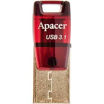 فلش مموری USB Type-C اپیسر مدل AH-180 ظرفیت 16 گیگابایت | Apacer AH-180 USB Type-C Flash Memory - 16GB
