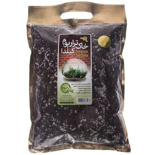 خاک تراریوم گیلدا  بسته 2 لیتری