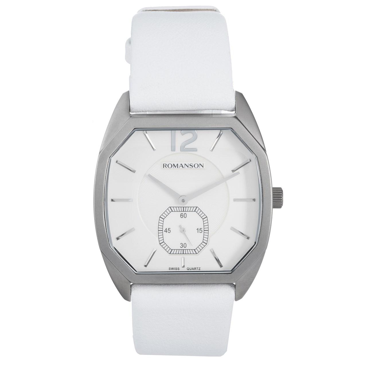 ساعت مچی عقربه ای مردانه رومانسون مدل TL1247MM1WAS2W 8