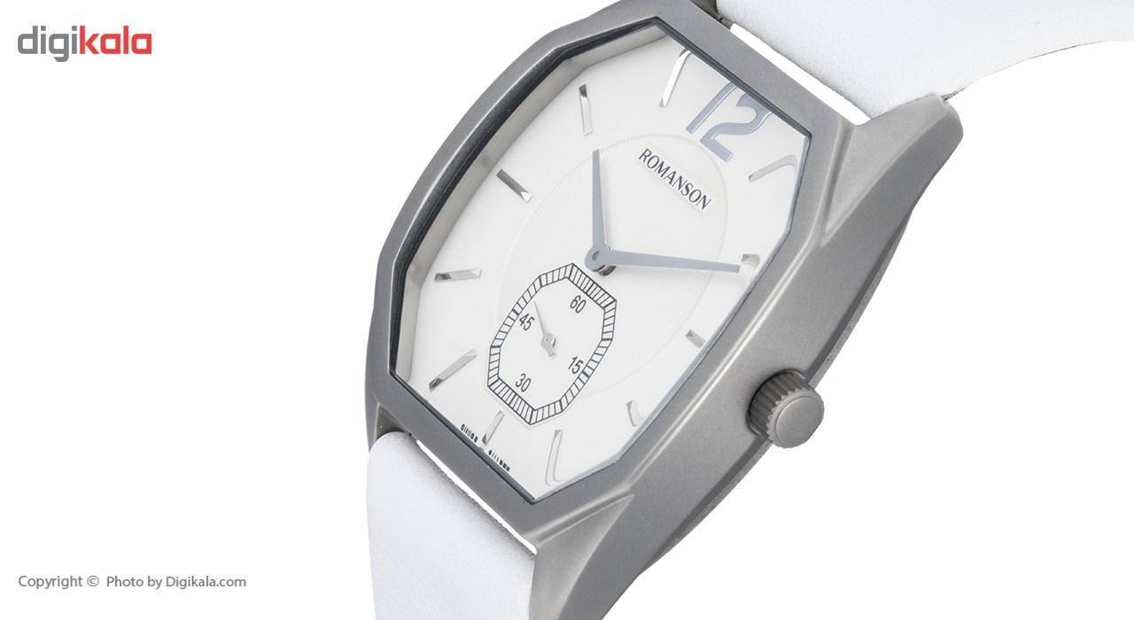 ساعت مچی عقربه ای مردانه رومانسون مدل TL1247MM1WAS2W -  - 4