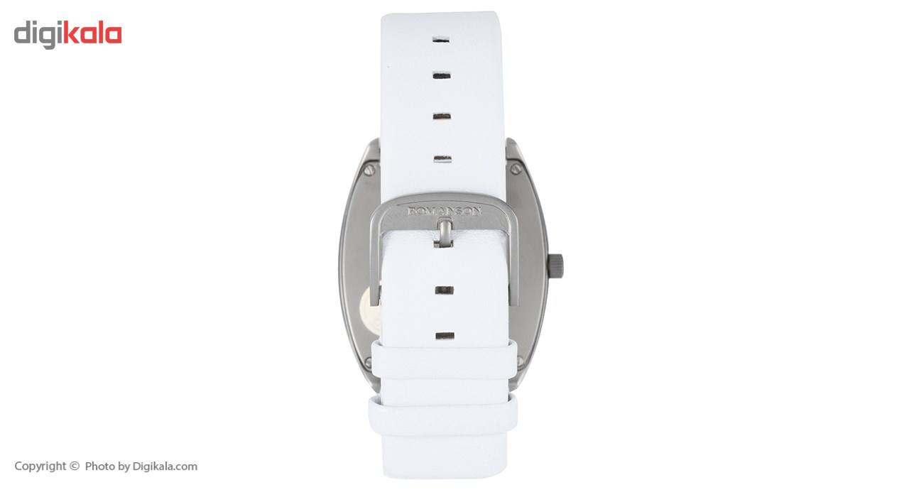 ساعت مچی عقربه ای مردانه رومانسون مدل TL1247MM1WAS2W -  - 3