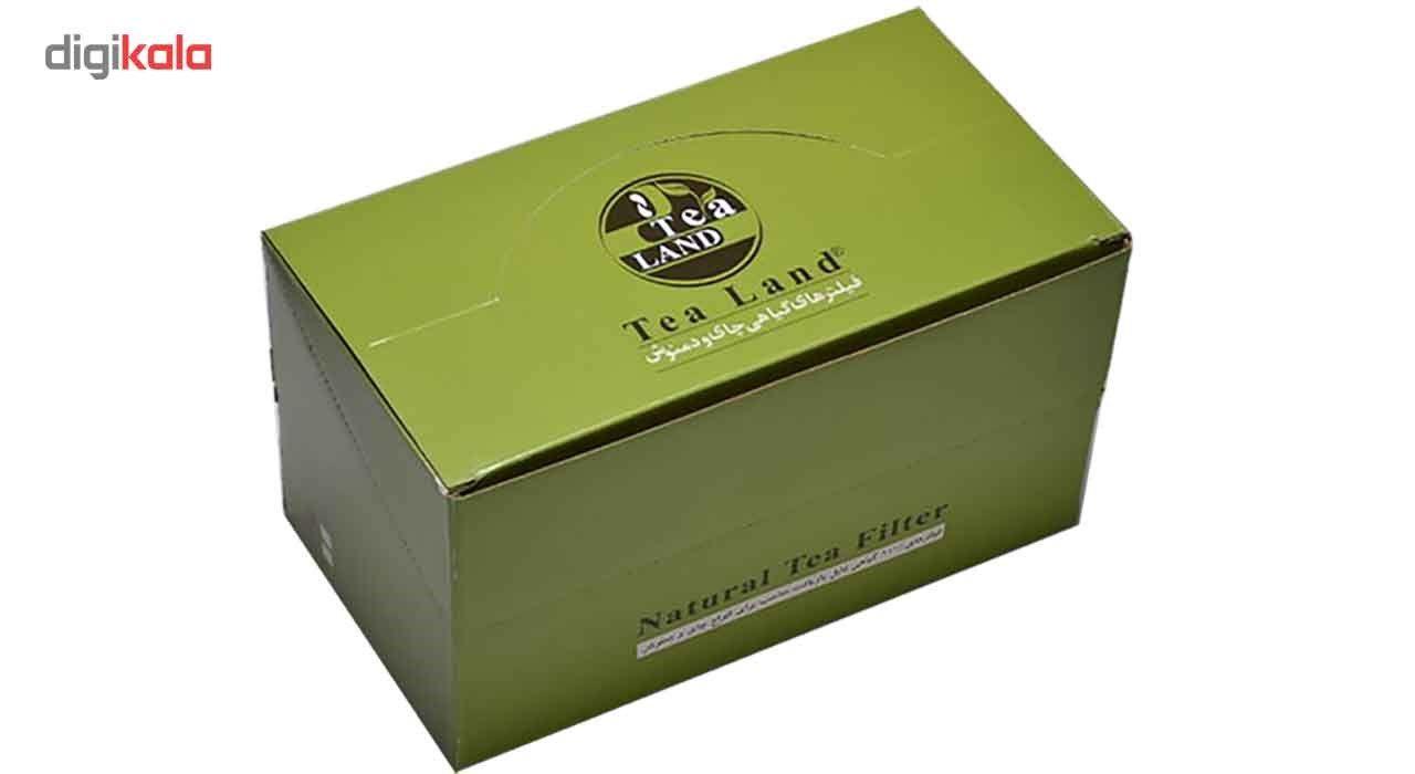 فیلتر گیاهی چای و دمنوش تیلند کدA1 بسته 50 عددی main 1 1
