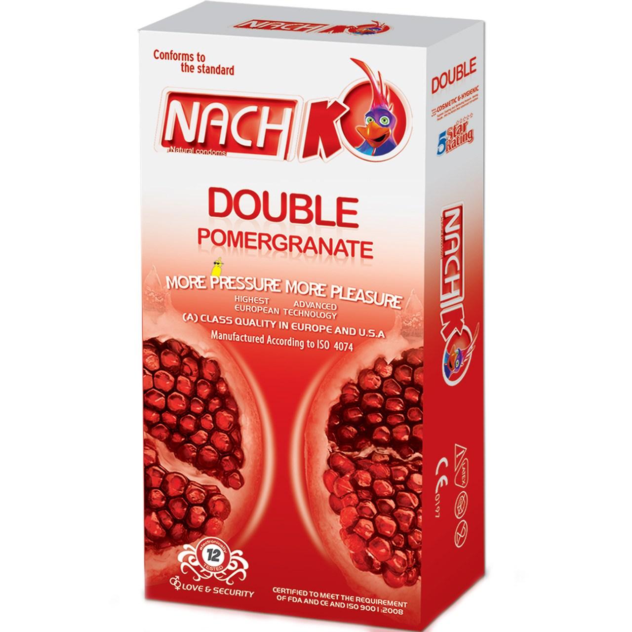 قیمت کاندوم کدکس مدل Double Pomegranate  بسته 12 عددی