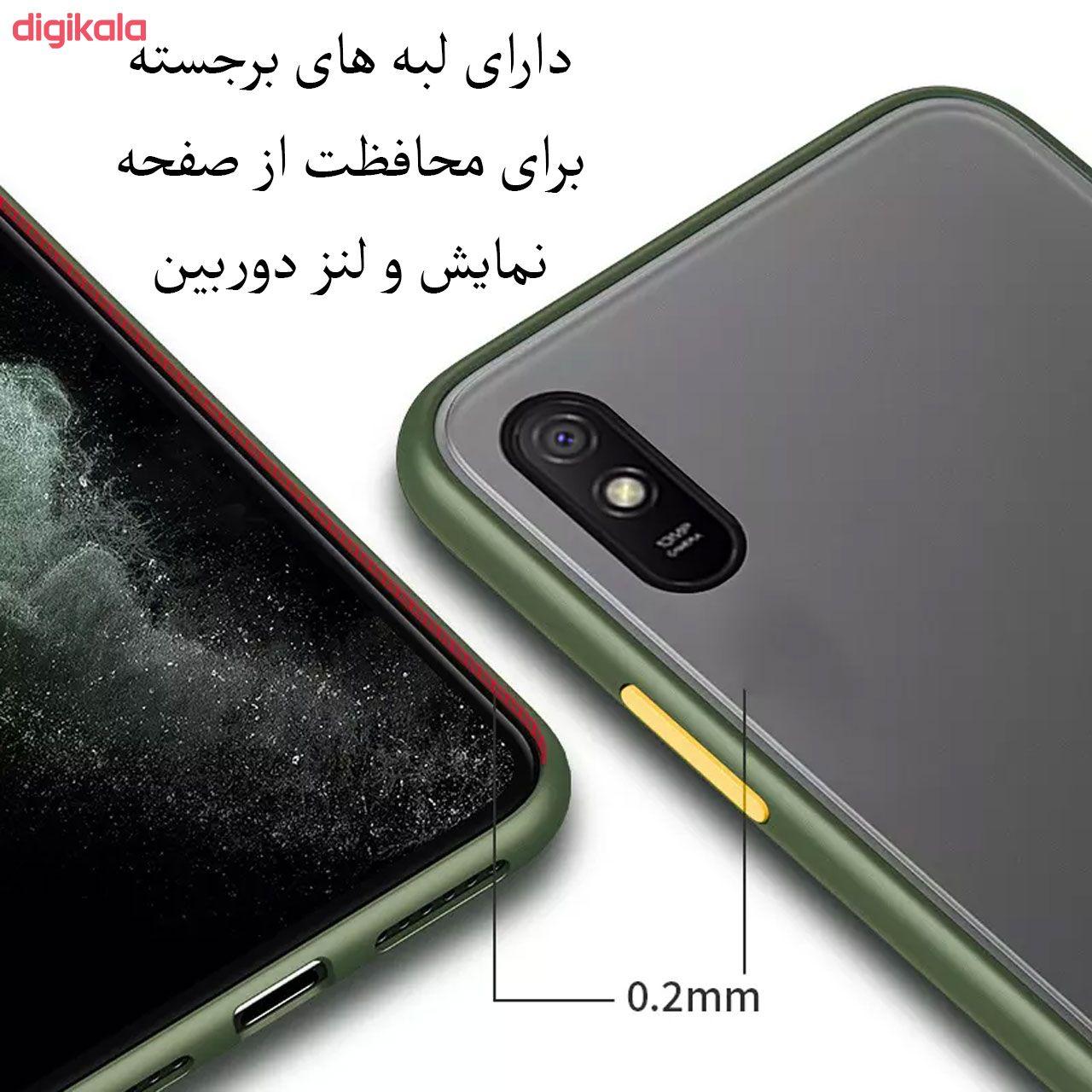کاور مدل PM مناسب برای گوشی موبایل شیائومی Redmi 9A main 1 3