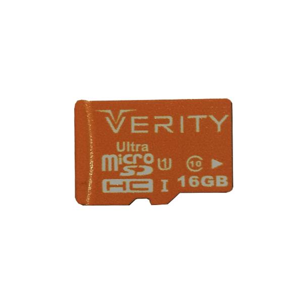 بررسی و {خرید با تخفیف} کارت حافظه microSDHC وریتی مدل Ultra کلاس 10 استاندارد UHS-I U1 سرعت 95MBps ظرفیت 16 گیگابایت اصل