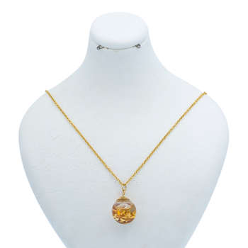گردنبند طلا 24 عیار  زنانه کد 100173