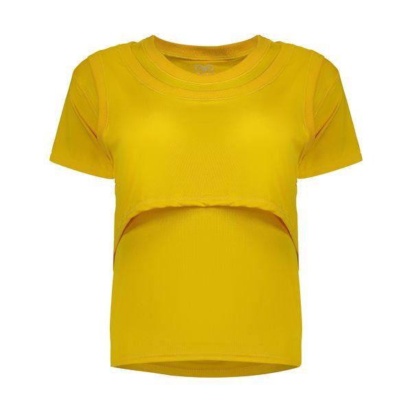 تی شرت ورزشی زنانه مون مدل 1631351-16