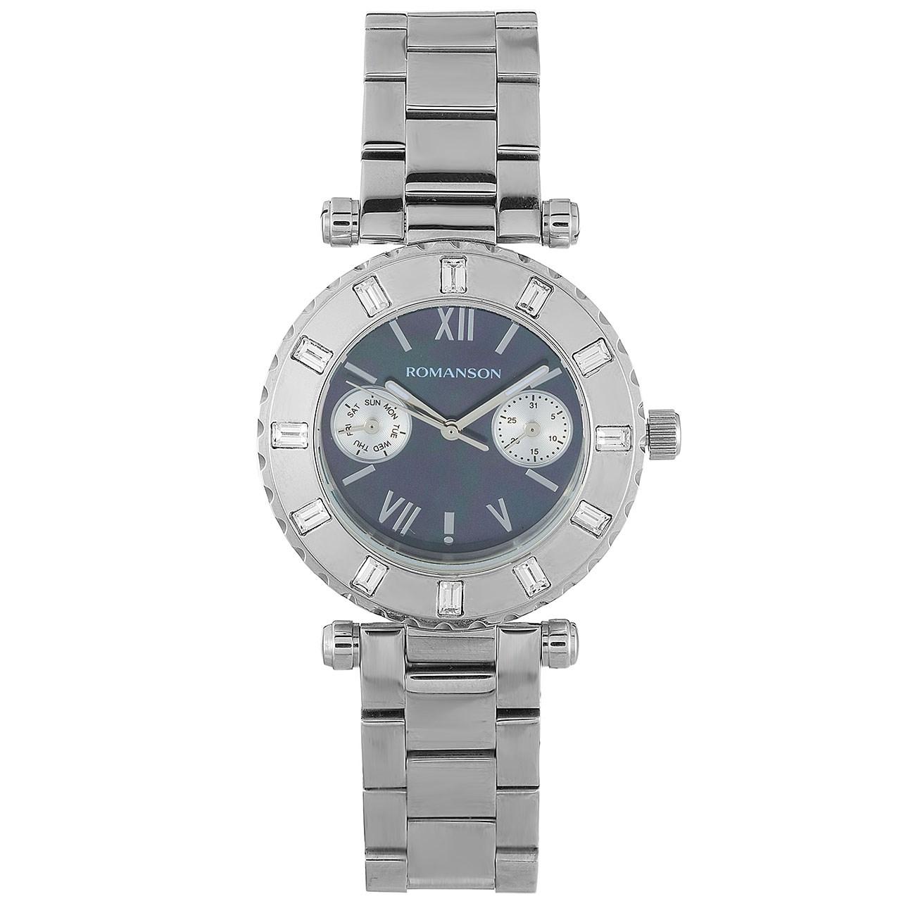ساعت مچی عقربه ای زنانه رومانسون مدل RM0379TL1WM32W